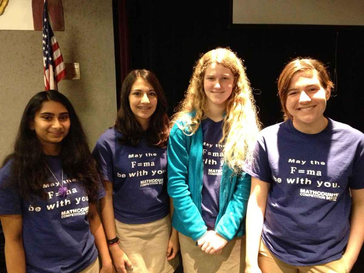 Powhatan School MATHCOUNTS Team 2014
