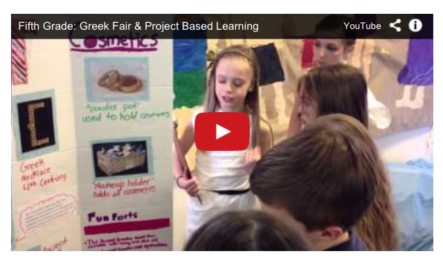 Fifth Grade Project Based Learning