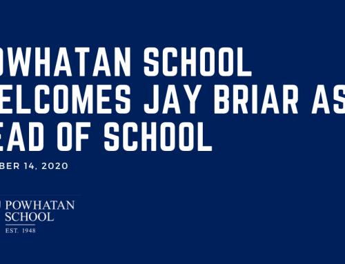 Powhatan School Welcomes Jay Briar As Next Head of School